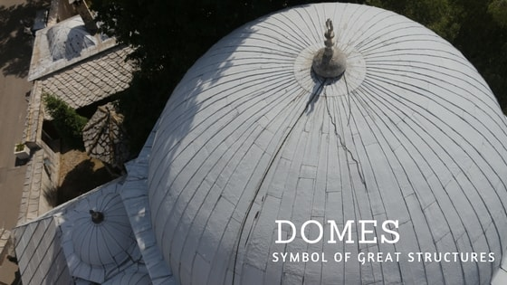 The most beautiful domes in mostar