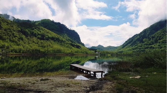 Boracko-lake
